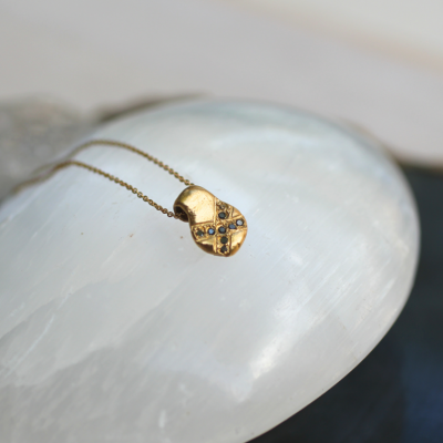 x marks the spot gold necklace