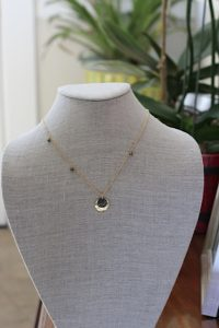 Jewelry made from recycled 18k gold over sterling silver
