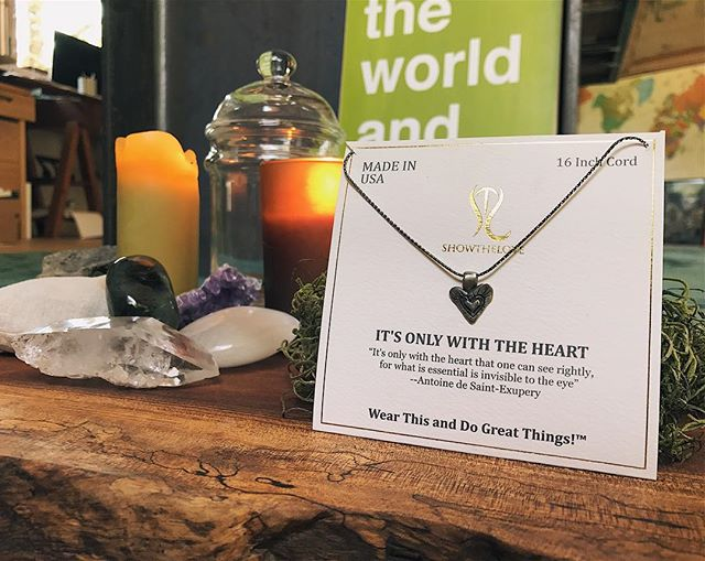 What guides us through life if not the heart? Let this piece remind you everyday that you have what it takes within your heart.