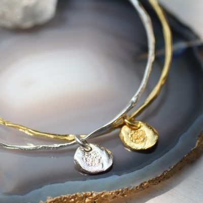 Flower of The Universe Bangle